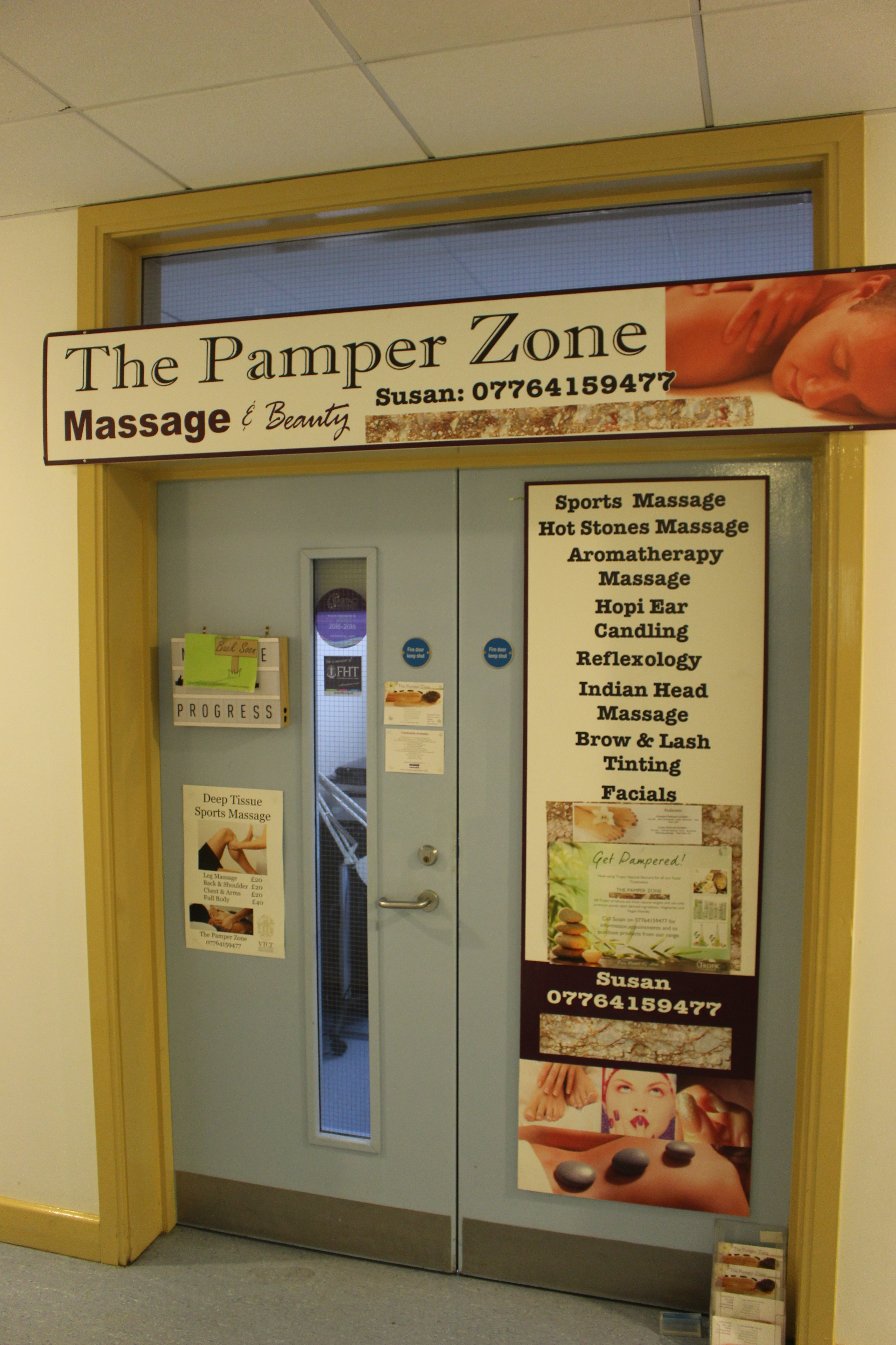 THE PAMPER ZONE